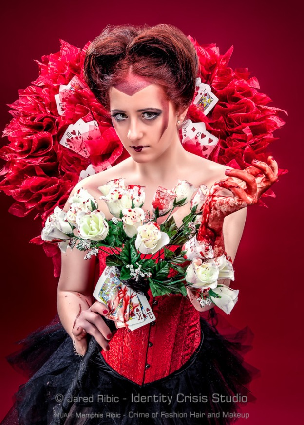 Bloody Red Queen (Painting the Roses Red)